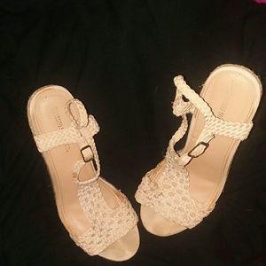 Shoes - Espadrilles wedges 7.5